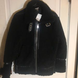 H&M's divided faux wool winter jacket